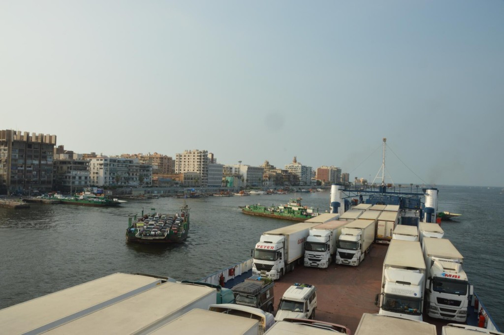 Finally Arriving in Port Said
