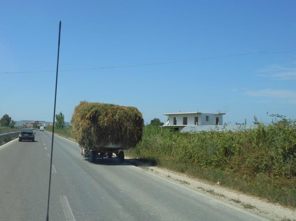 Albanian Motorway Traffic