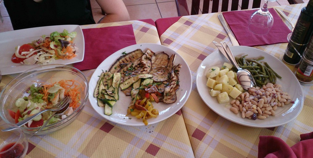 Random Italian restaurant with a custom meal for us