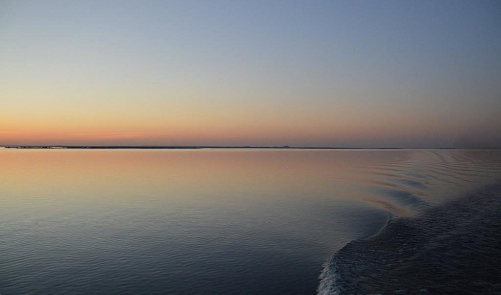 Evening on Lake Nasser