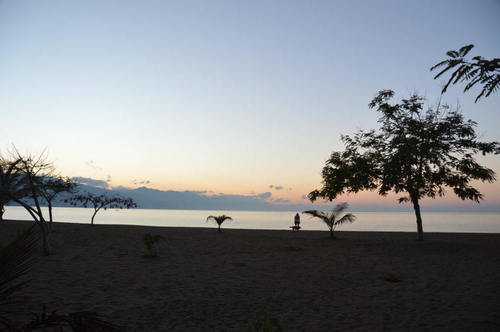 Sunrise at the Blue Canoe Safari Lodge