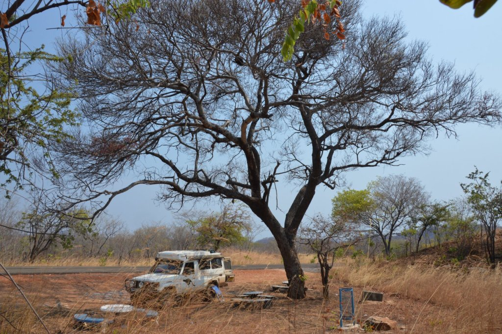 Nice lunch spot after passing the Zimbabwe border