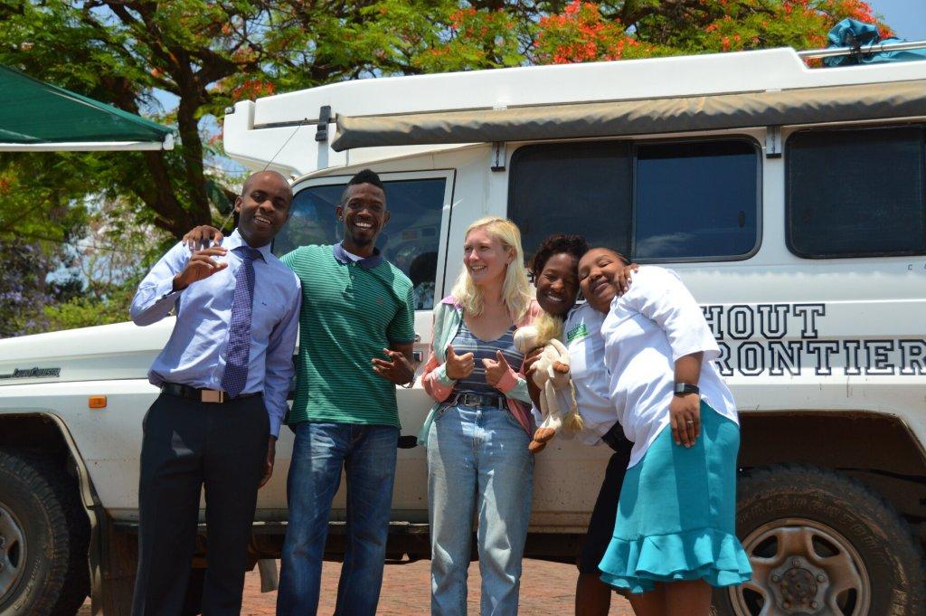 Zimbabwe Vegans meet Troopy and Katana