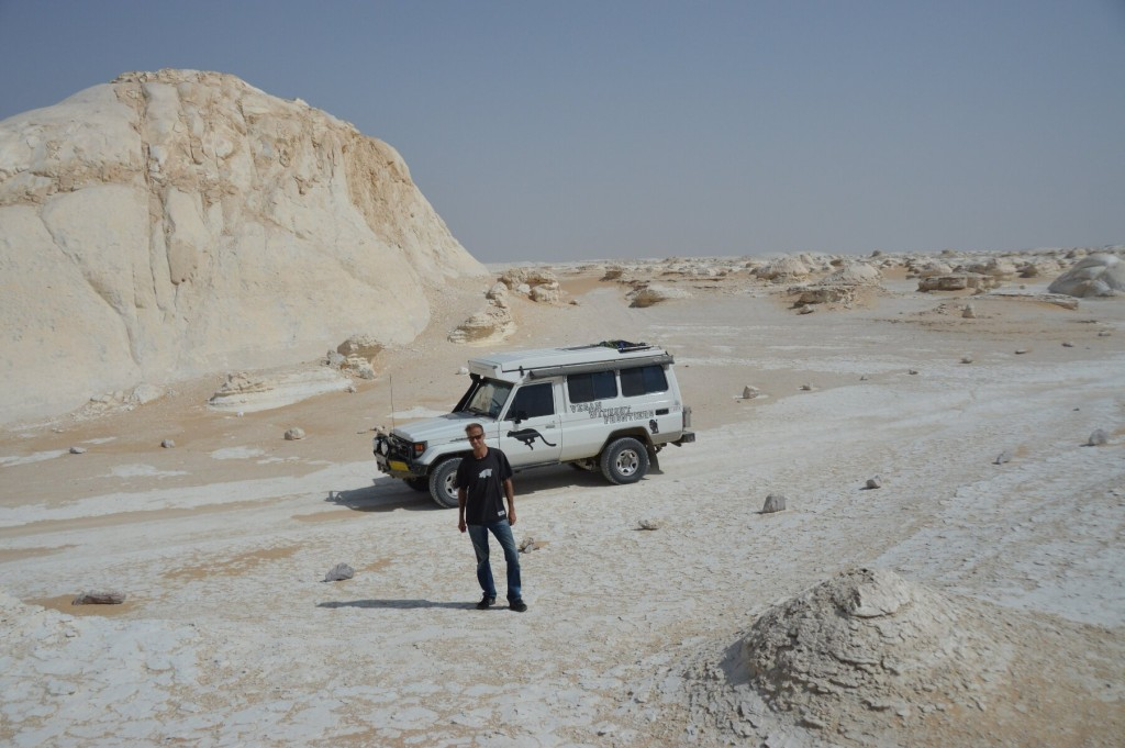 Jonathan and Troopy in the White Desert