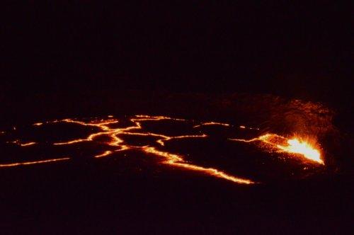 Mesmeric lava lake - Erta Ale
